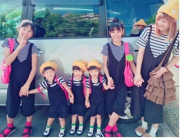 日本一妈妈有了双胞胎女儿后又生下三胞胎女儿,可以和两次生了5个儿子的那家认识一下…