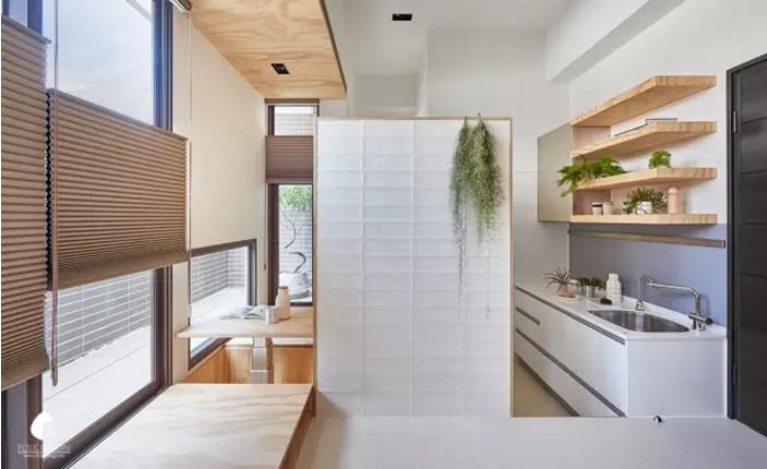 10坪爆改出一室一厅一卫一厨房一储物间,这个台湾设计师简直开挂